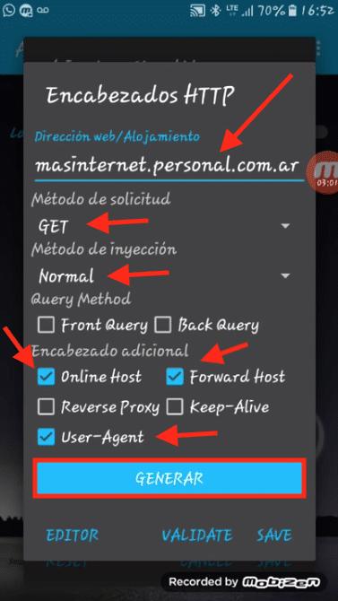 actualizar internet gratis personal argentina anonytun prime