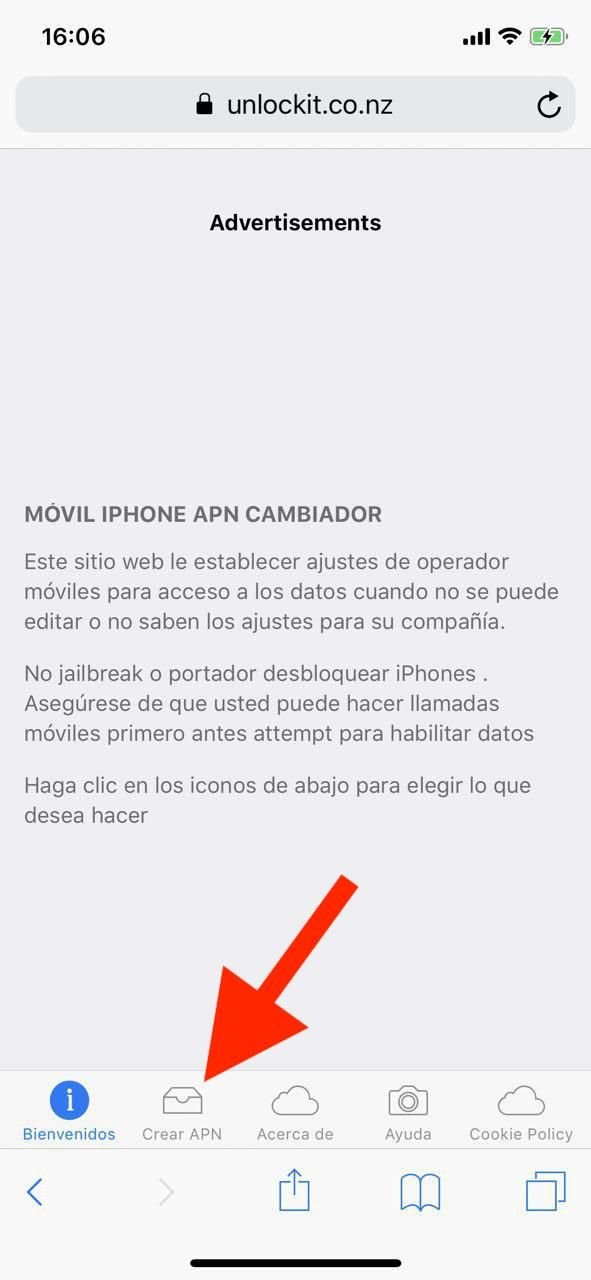 descargar apn internet gratis iphone ios apple netfree 4g lte y 3g