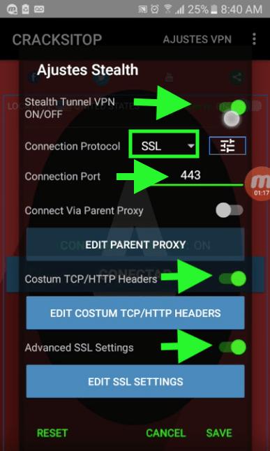 como configurar acelerar internet gratis cnt