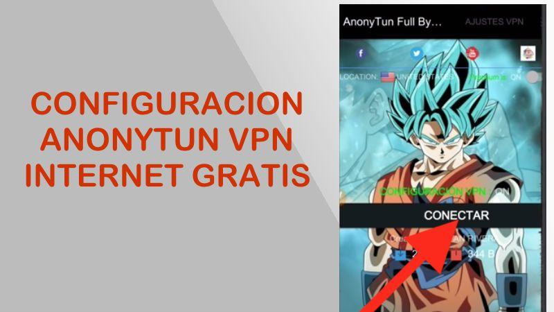 configuracion anonytun vpn pro internet gratis movistar 2018