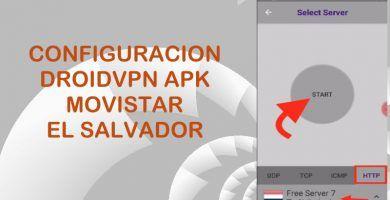 configuracion droidvpn movistar el salvador 2018 internet gratis 4g vpn