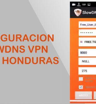 configuracion slowdns claro honduras internet gratis 2018 vpn