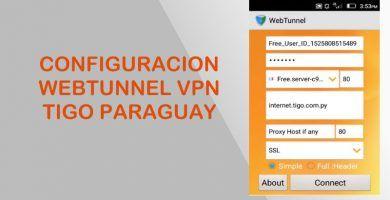 configuracion webtunnel tigo paraguay internet gratis vpn ilimitado