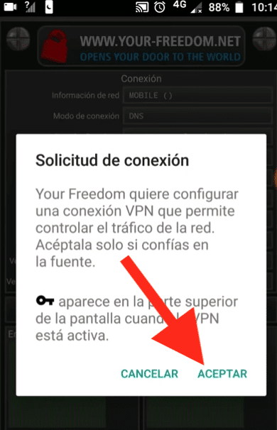 descargar configuracion your freedom telcel vpn netfree