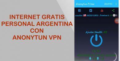 internet gratis personal argentina anonytun vpn apk configuraciones