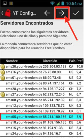 servidores internet gratis tigo bolivia con your freedom