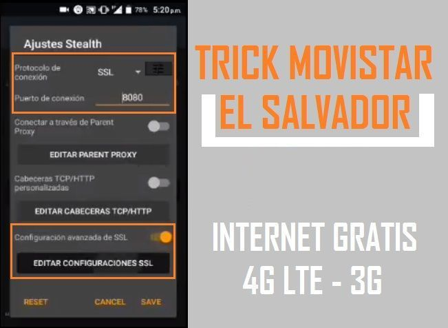 Configuracion movistar anonytun el salvador 2019 internet gratis full