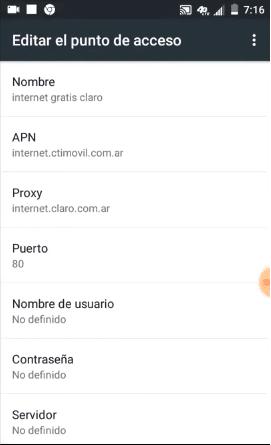 apn claro argentina internet sin vpn apk 2019