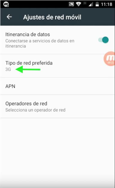 cambiar red 3g telcel configuraciones telcel anonytun