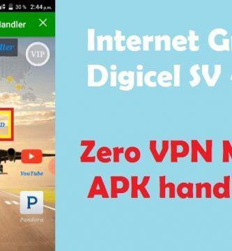 como conectar zero vpn apk mod al internet digicel gratis android