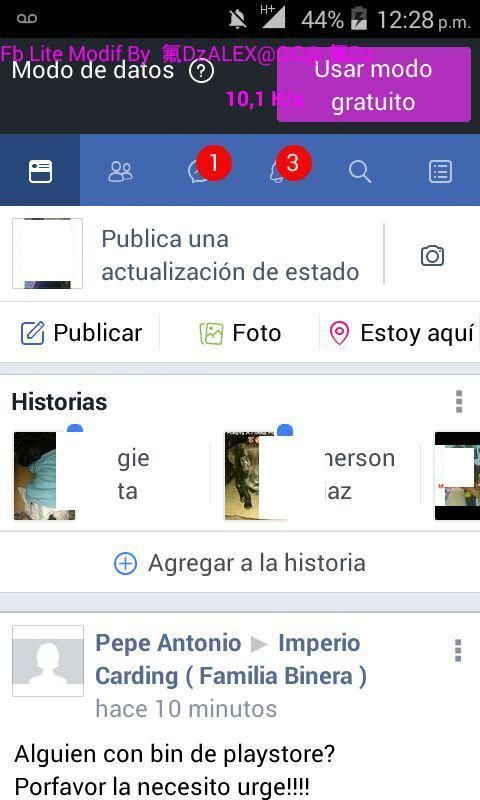 como descargar facebook lite apk hack sin internet sin datos