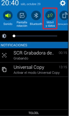 conectar amaze vpn telcel android