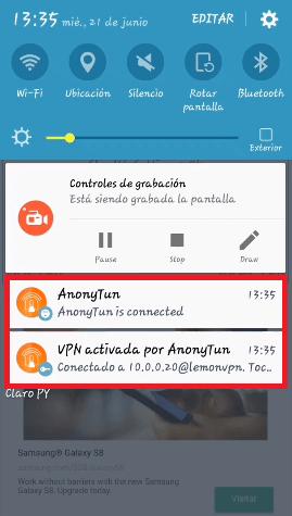 conectar anonytun claro paraguay 2019
