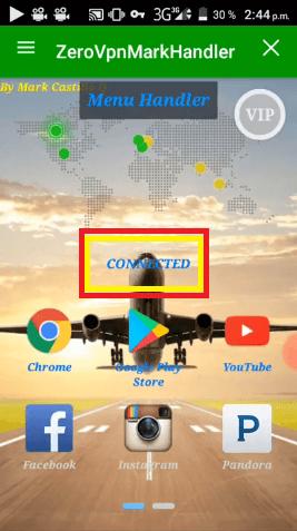 conectar zero vpn al internet digicel gratis android