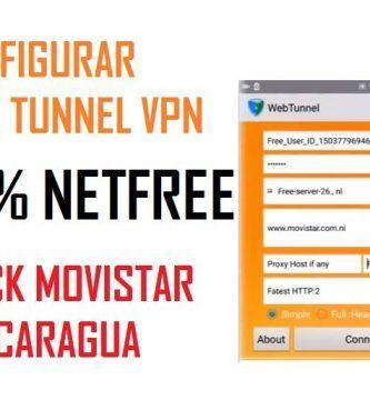 configuracion web tunnel movistar nicaragua 2019