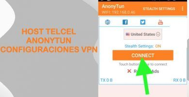 configuraciones telcel anonytun vpn apk internet gratis host trick