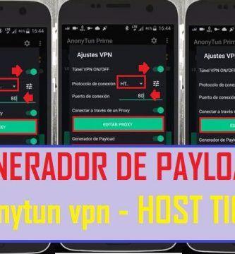 configurar generador de payload anonytun vpn apk tigo host