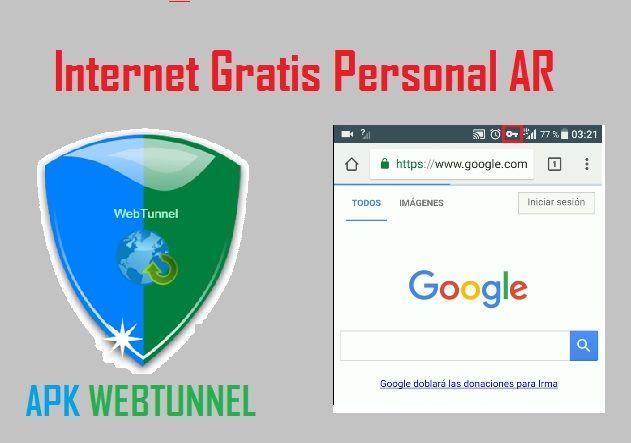 configurar webtunnel personal argentina 2019