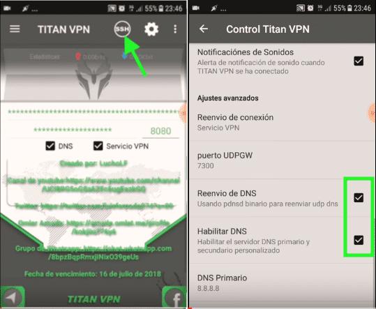 descargar servidor claro paraguay titan vpn apk 4g lte y 3g gratis