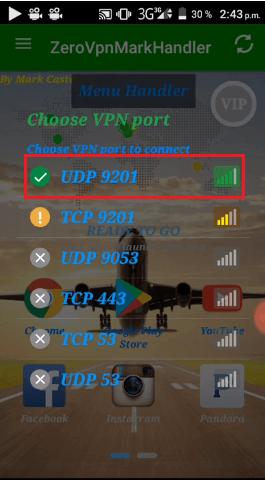 digicel netfree vip con zero vpn handler apk