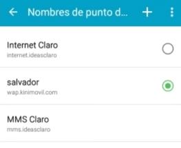 internet claro ilimitado android 2019 sv