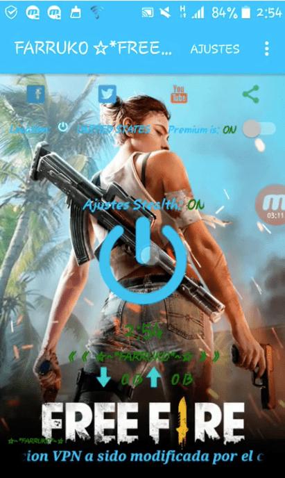 mod free fire vpn apk gratis descargar 2019