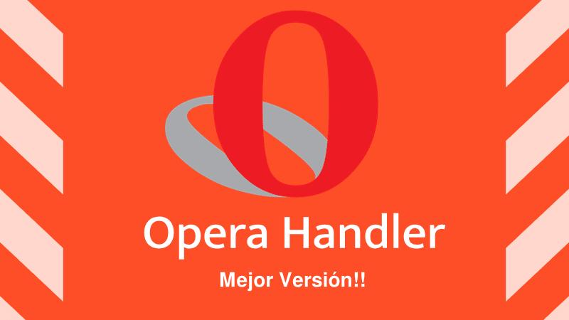 🥇 Opera Mini 7 5 4 Handler 2019 APK & configuraciones FULL
