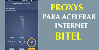 proxys para acelerar internet bitel 4g 2019 android