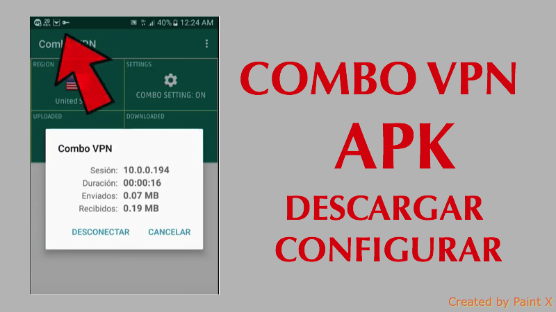 combo vpn apk descargar configurar instalar android gratis