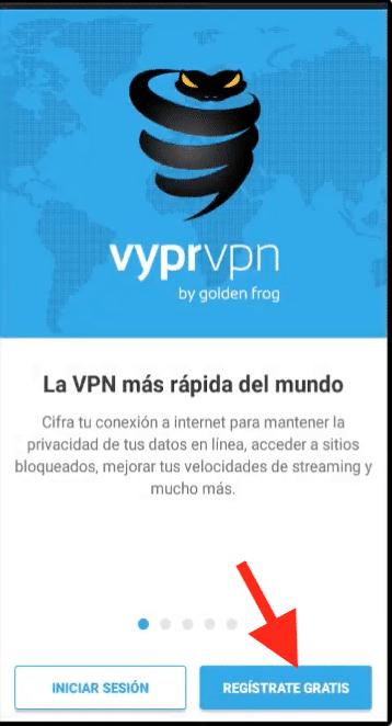 como crear cuenta vyprvpn para netfree server