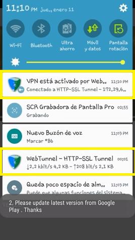 conectar perfil wap telcel en web tunnel apk vpn