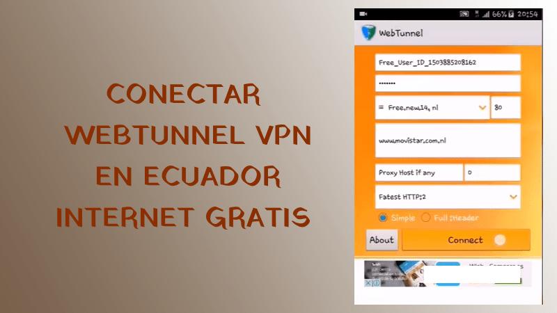 conectar webtunnel vpn en ecuador claro movistar claro tuenti