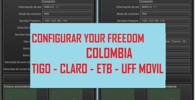 configurar your freedom 201 9 tigo uff movil claro etb colombia