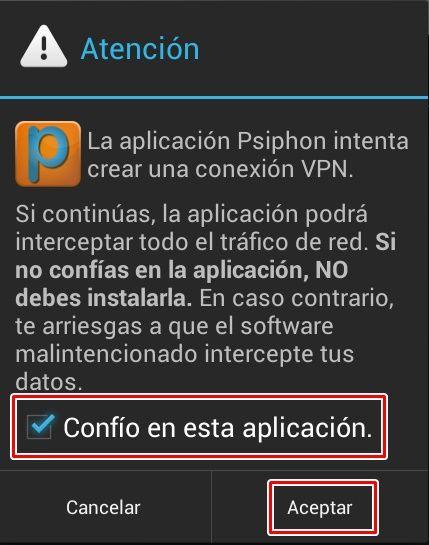 confio en esta aplicacion internet gratis android