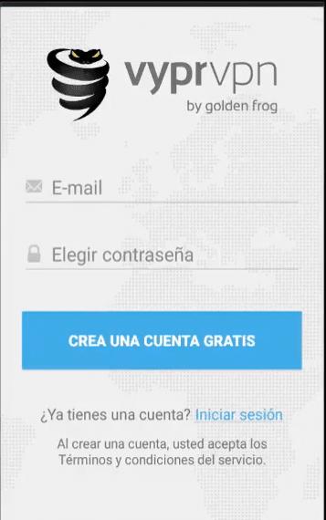 crear cuenta vyprvpn desbloquear cuenta vip free