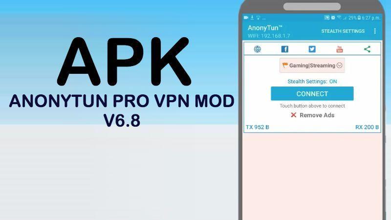descargar anonytun apk pro vpn mod v68 android trick payload host