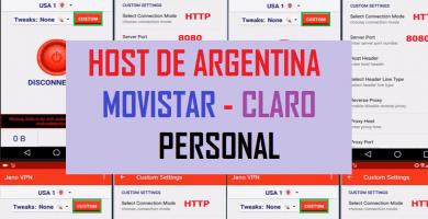 descargar host de claro argentina jano vpn