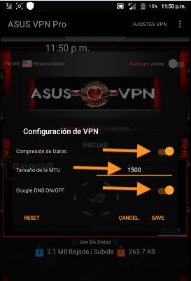 host movistar mexico trick asus pro vpn apk