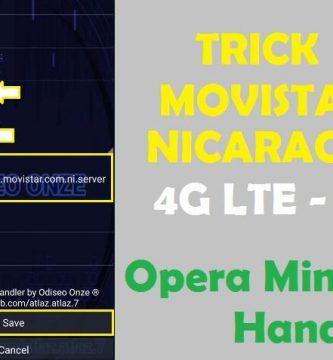 movistar nicaragua opera mini handler trick internet gratis