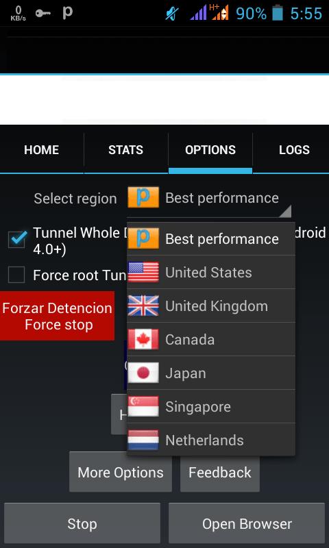 servidor apk descargar psiphon pro apk gratis para android