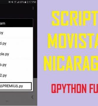 descargar Script Movistar Nicaragua
