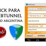 tener internet sin saldo claro argentina configurar webtunnel