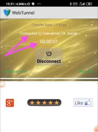 datos moviles gratis web tunnel españa