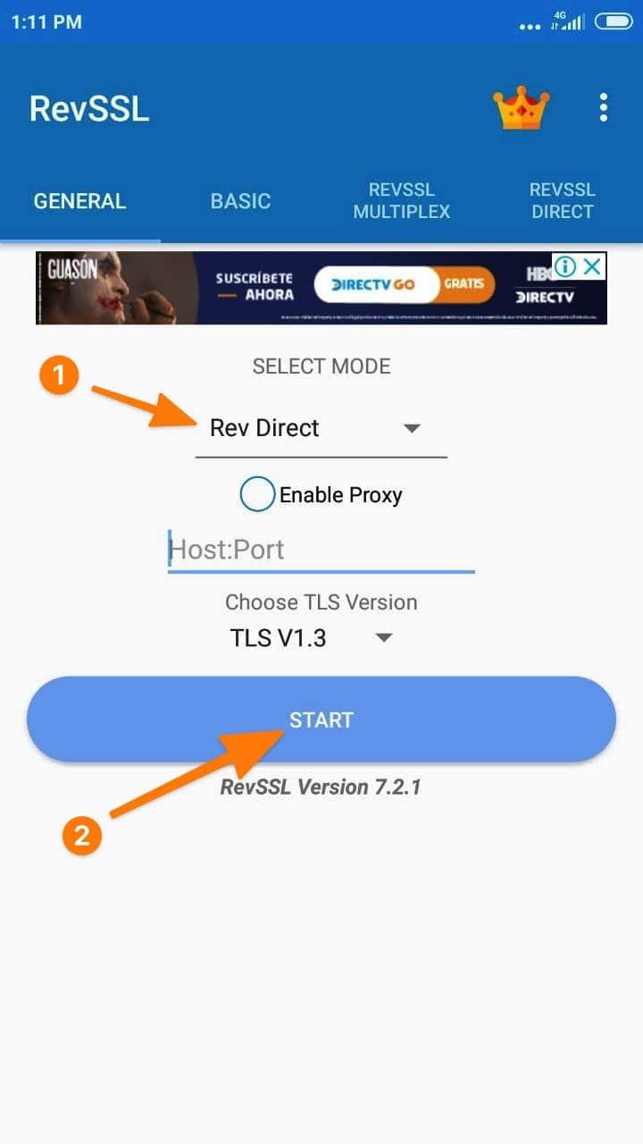 app RevSSL configuraciones